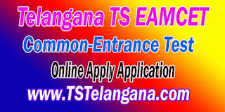 Telangana TS EAMCET TSEAMCET 2017 Online Apply Application