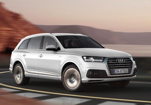 2016 Audi Q7 white