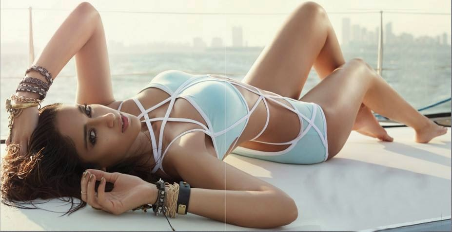 Ileana Dcruz scorhing hot photoshoot for MW Magazine in swimsuit
