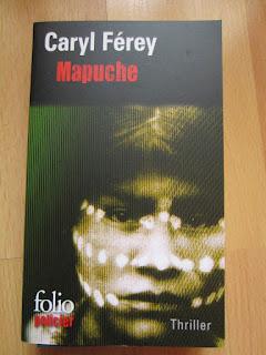 couverture de Mapuche de Caryl Férey