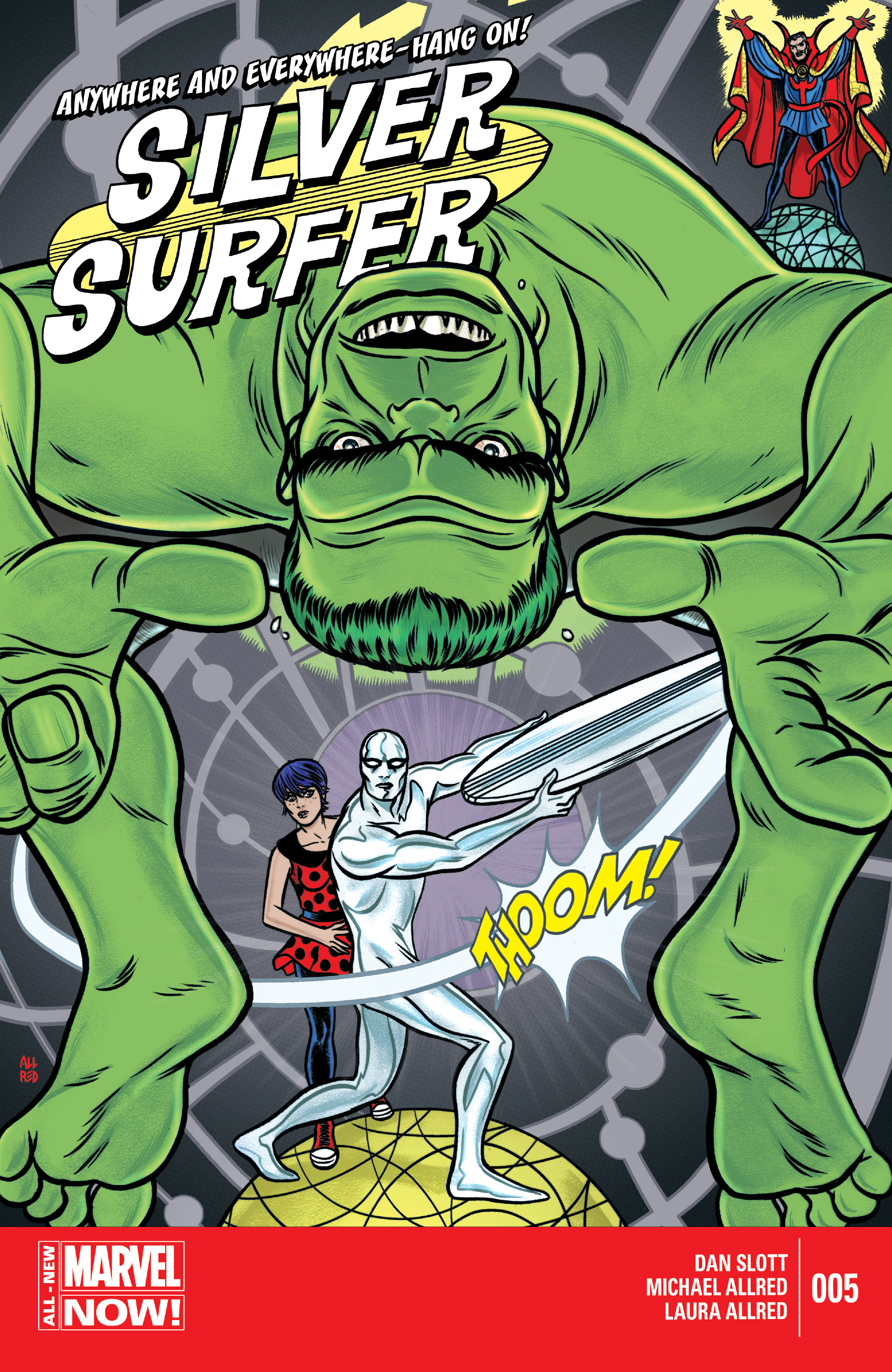 Read online Silver Surfer (2014) comic -  Issue #5 - 1