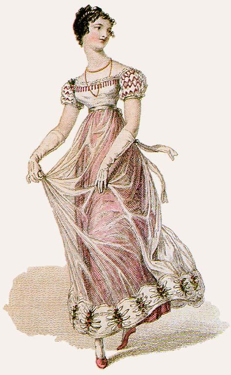 986560181e12 Romancing History: Empire Line Dresses