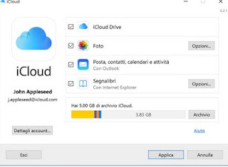 iCloud da Windows