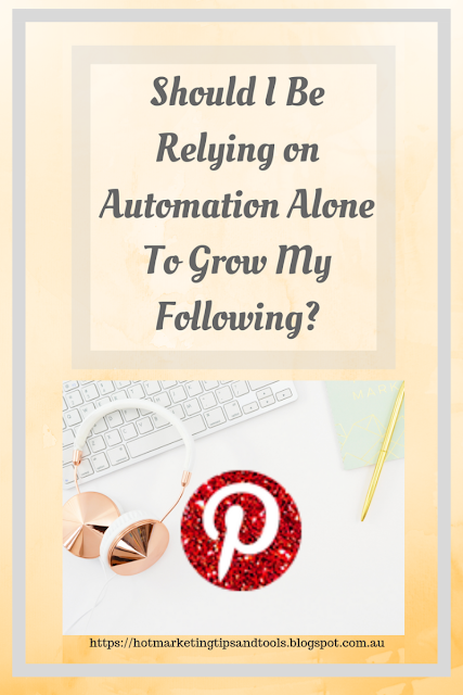 Pinterest Tips-how To grow yur following successfully without automation