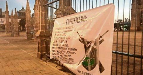 """Mensaje de la Nueva Familia Michoacana, """"Michoacan es para los Michoacanos!"""""""