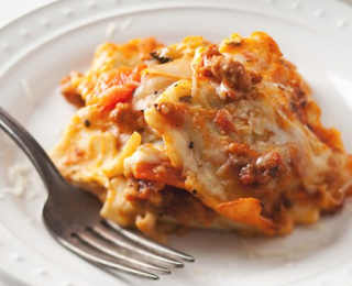 Weekend Cooking: Ravioli Lasagna