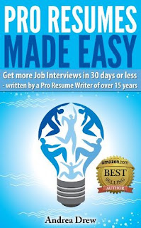 Pro Resumes Made Easy by Andrea Drew book cover