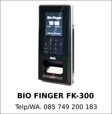 Juragan Mesin Absensi Bio Finger FK-300 Murah