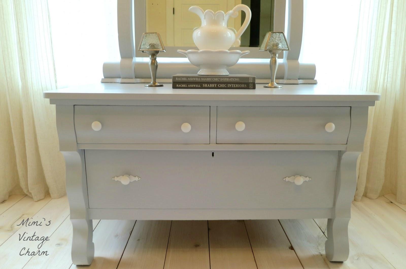 Empire Dresser And A Custom Bathroom Vanity