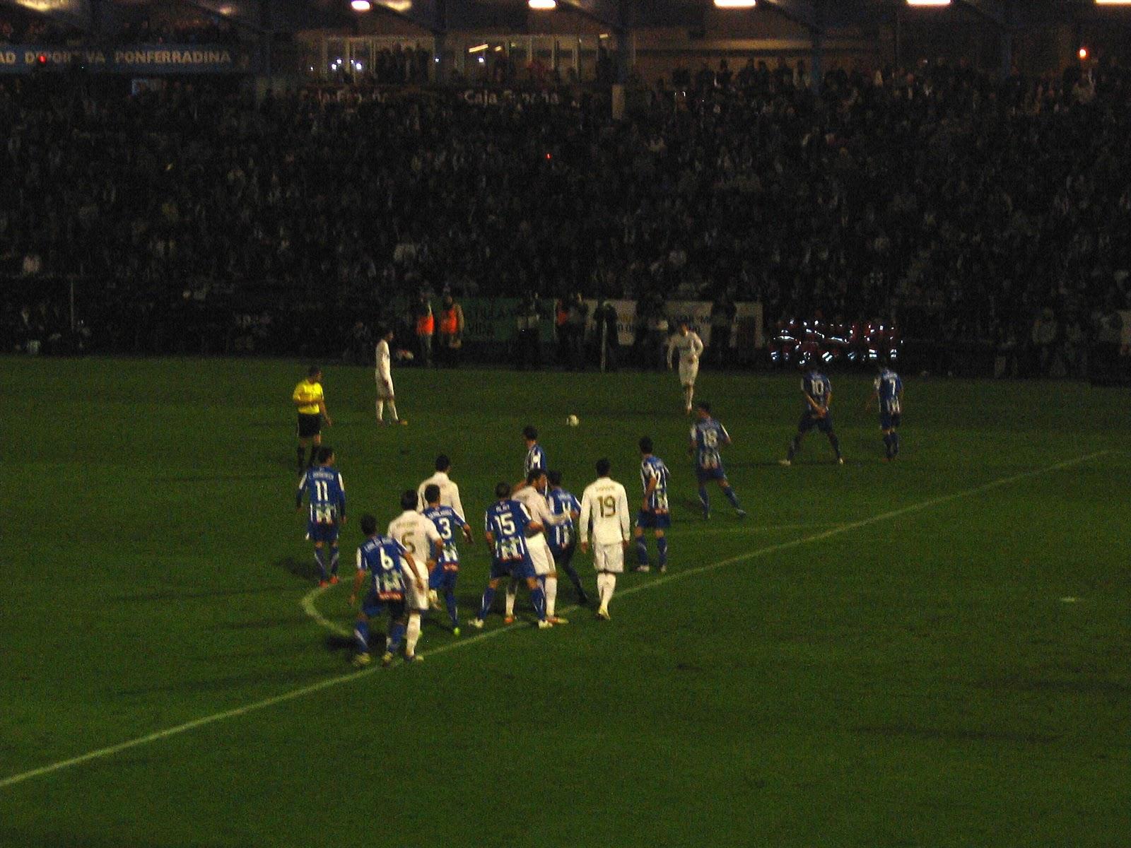 Copa del Rey 1 16 de Final Ponferradina 0-2 Real Madrid 2870dc358ca