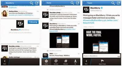 La versión 10.2.2 de Twitter se ha eliminado de BlackBerry World debido a problemas reportados por losusuarios, BlackBerry ha proporcionado algunas instrucciones de downgrade para aquellos de ustedes que han sido afectados por esta actualización. Simplemente siga las instrucciones de downgrade de Twitter a continuación: Si ha descargado la versión 10.2.2 y está experimentando problemas, por favor siga estos pasos parainstalar la versión anterior: En la pantalla principal, mantenga pulsado el icono de Twitter hasta que aparezca la X. Pulse la X para eliminar la aplicación. Abra BlackBerry World. En BlackBerry World vaya a Configuración deslizando hacia abajo desde la