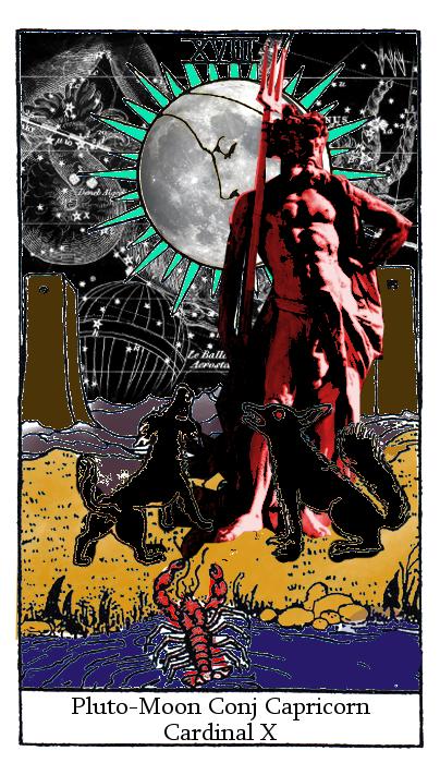 Rebel Astrology: Moon Conjunct Retrograde Pluto Capricorn