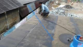 jasa waterproofing membrane dak atap beton