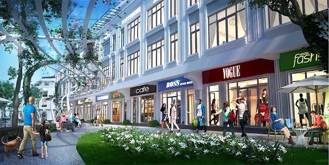 Nhà phố thương mại Khai Sơn City