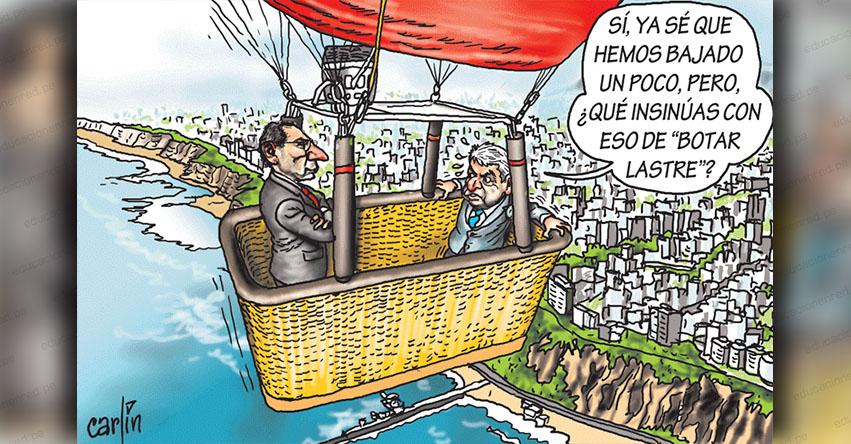 Carlincaturas Sábado 9 Marzo 2019 - La República