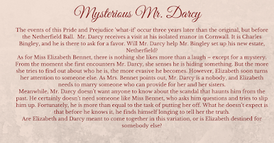 Mysterious Mr Darcy by Monica Fairview - Blurb