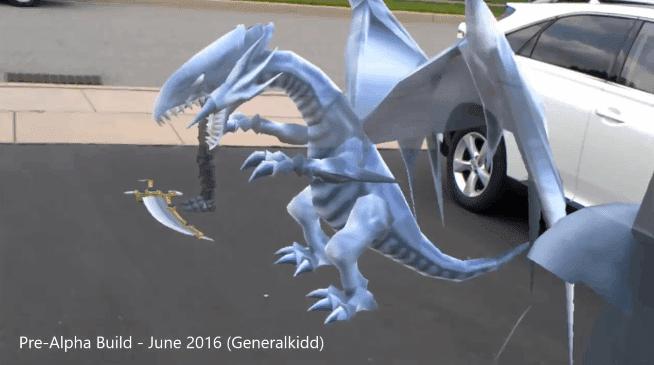 Yu-Gi-Oh! For HoloLens