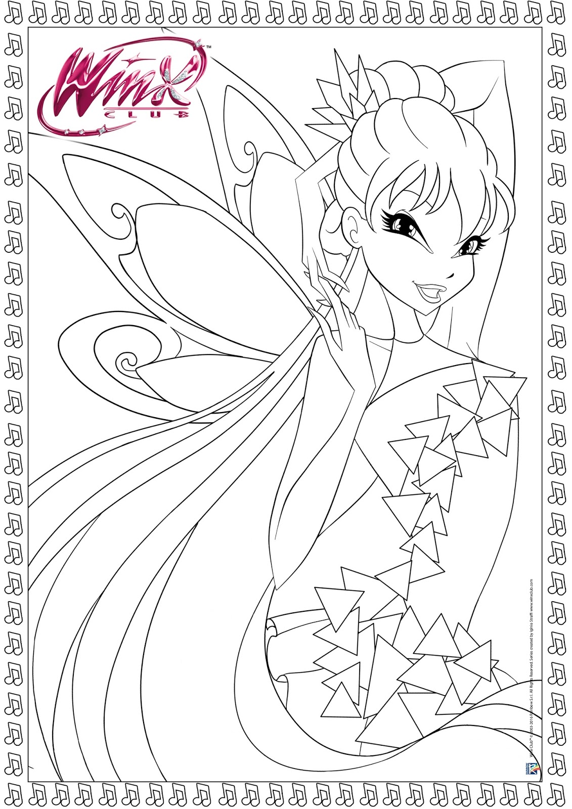 The Winx Coloring Pages