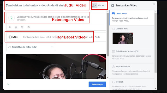 Cara Merubah Thumbnail Video Facebook - Kored ID