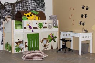 Kidsgigant decoratietips voor een junglekamer
