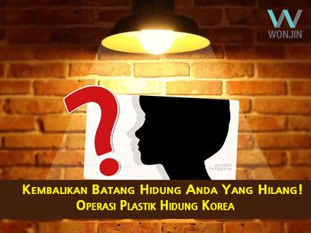 Kekinian opeasi plastik hidung Korea