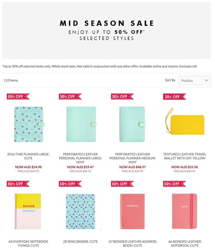 Mid Season Sale Kikki K