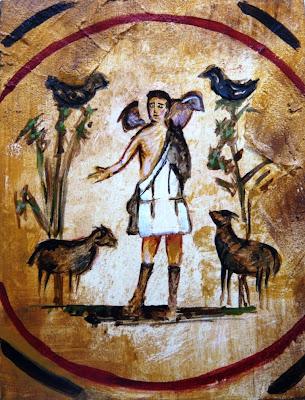 Resultado de imagen de pintura buen pastor