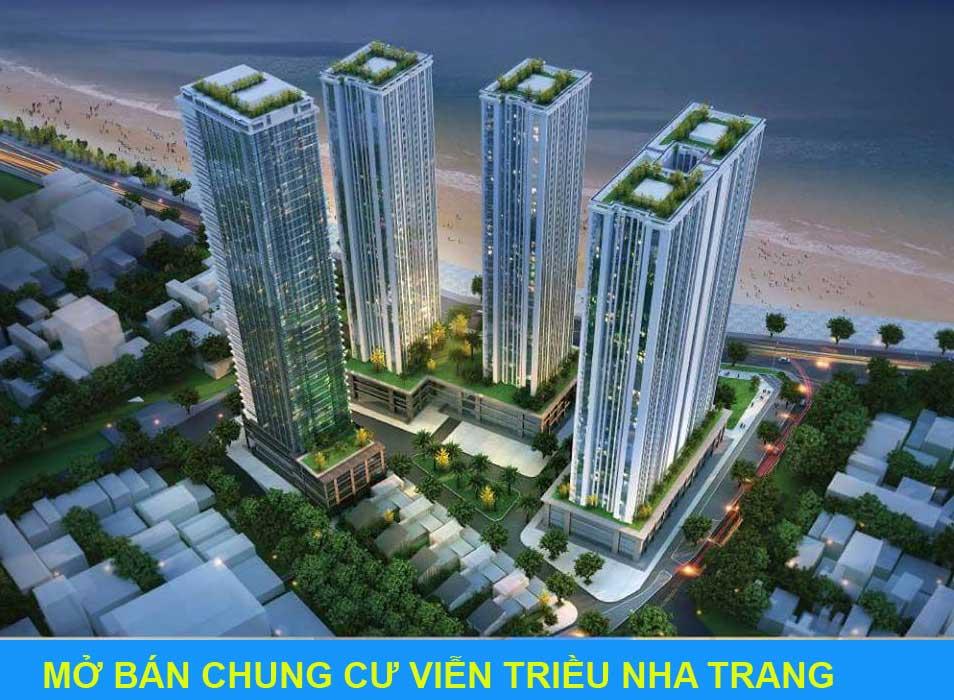 Bán chung cư Viễn Triều Nha Trang đẹp nhất giá bán từ 13 triệu