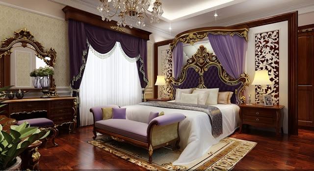nội thất phòng ngủ căn hộ chung cư King Place 108 Nguyễn Trãi