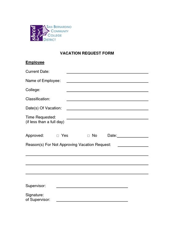 leave request forms templates - Josemulinohouse - leave request form
