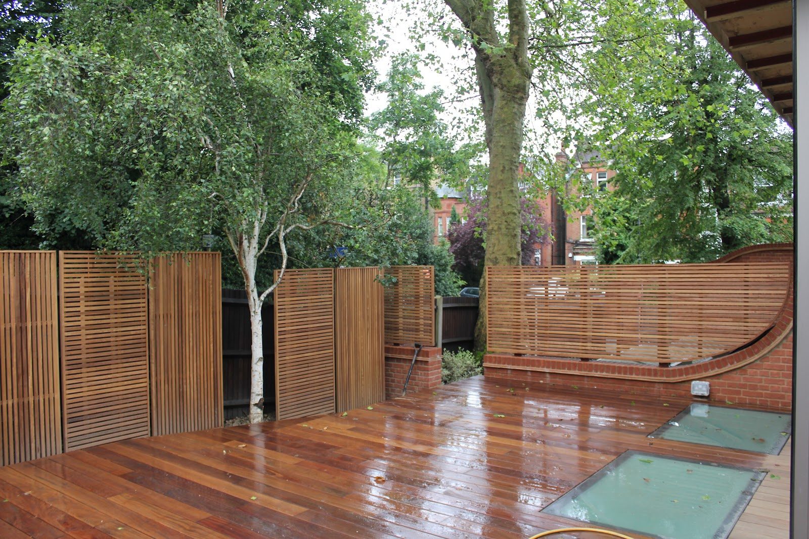 JDH Joinery And Timberscape: Hampstead: Hard Wood Slatted