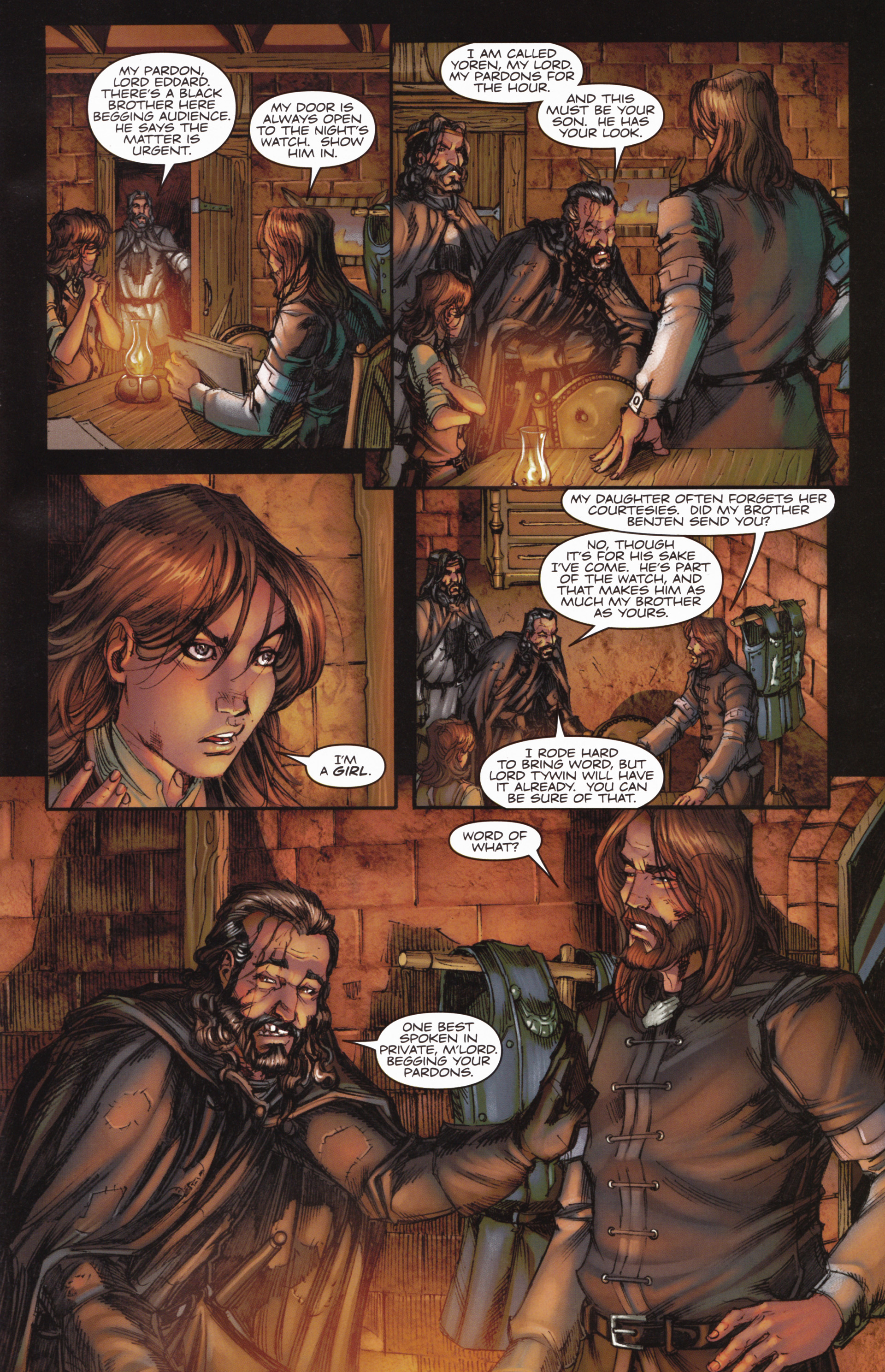 Read online A Game Of Thrones comic -  Issue #10 - 23