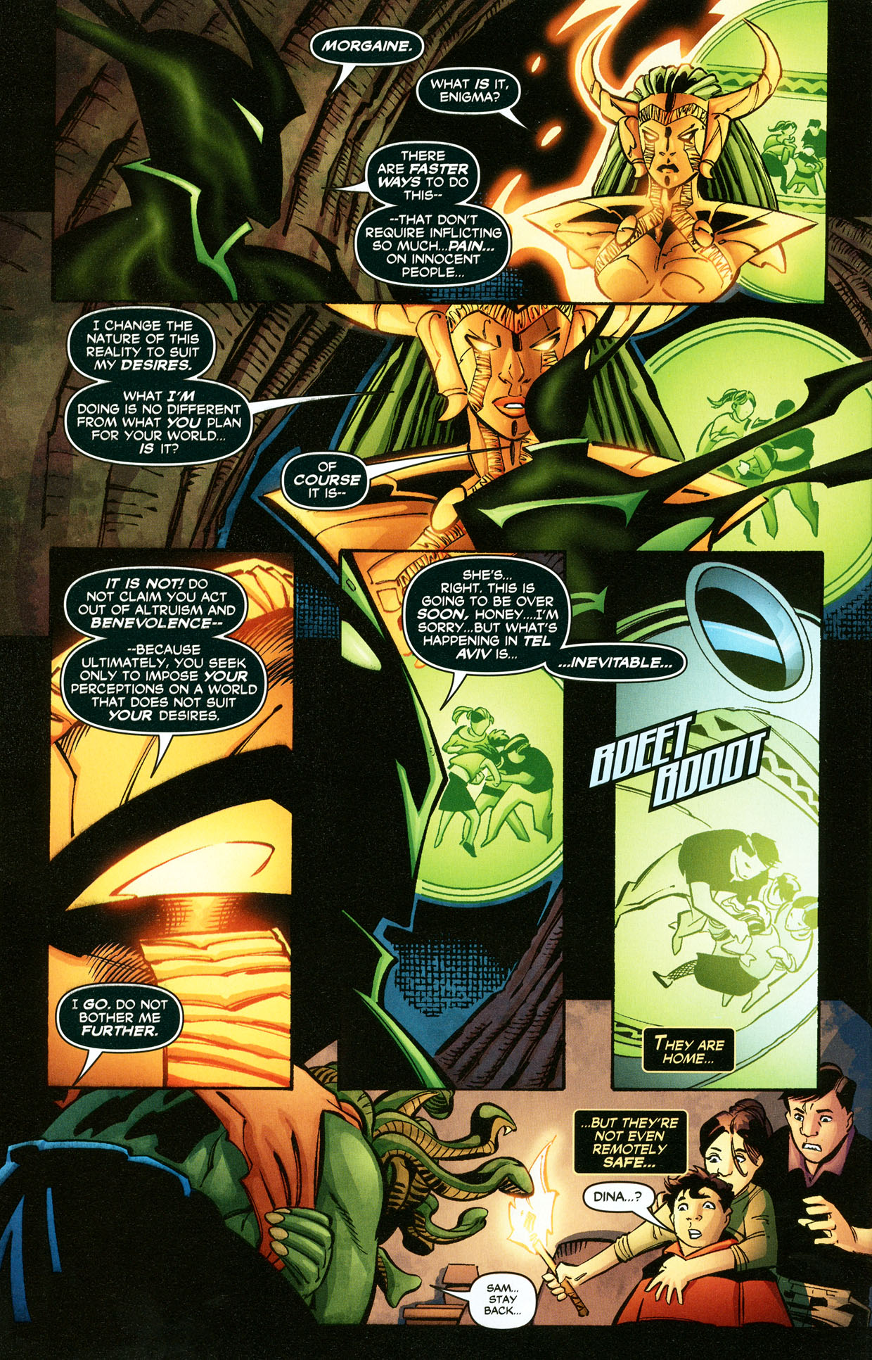 Read online Trinity (2008) comic -  Issue #33 - 29