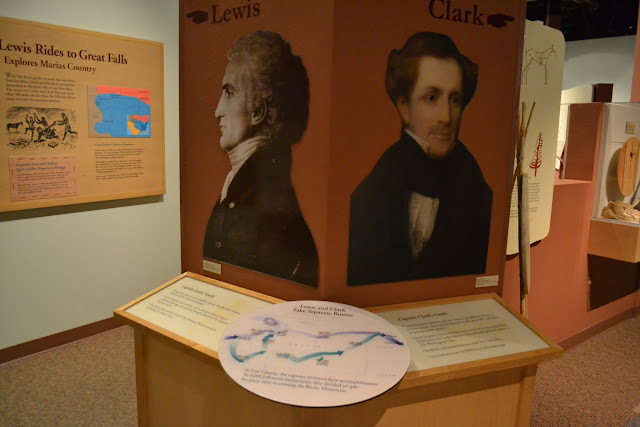 Центр Льюїса і Кларка, Монтана (The Lewis and Clark Interpretive Center, MT)