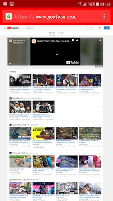 Cara Putar Youtube Bersamaan Sambil Buka Aplikasi Chatingan