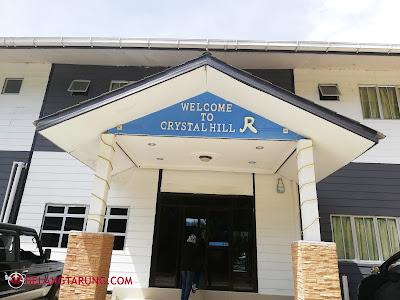 Reception crystal Hill Kundasang