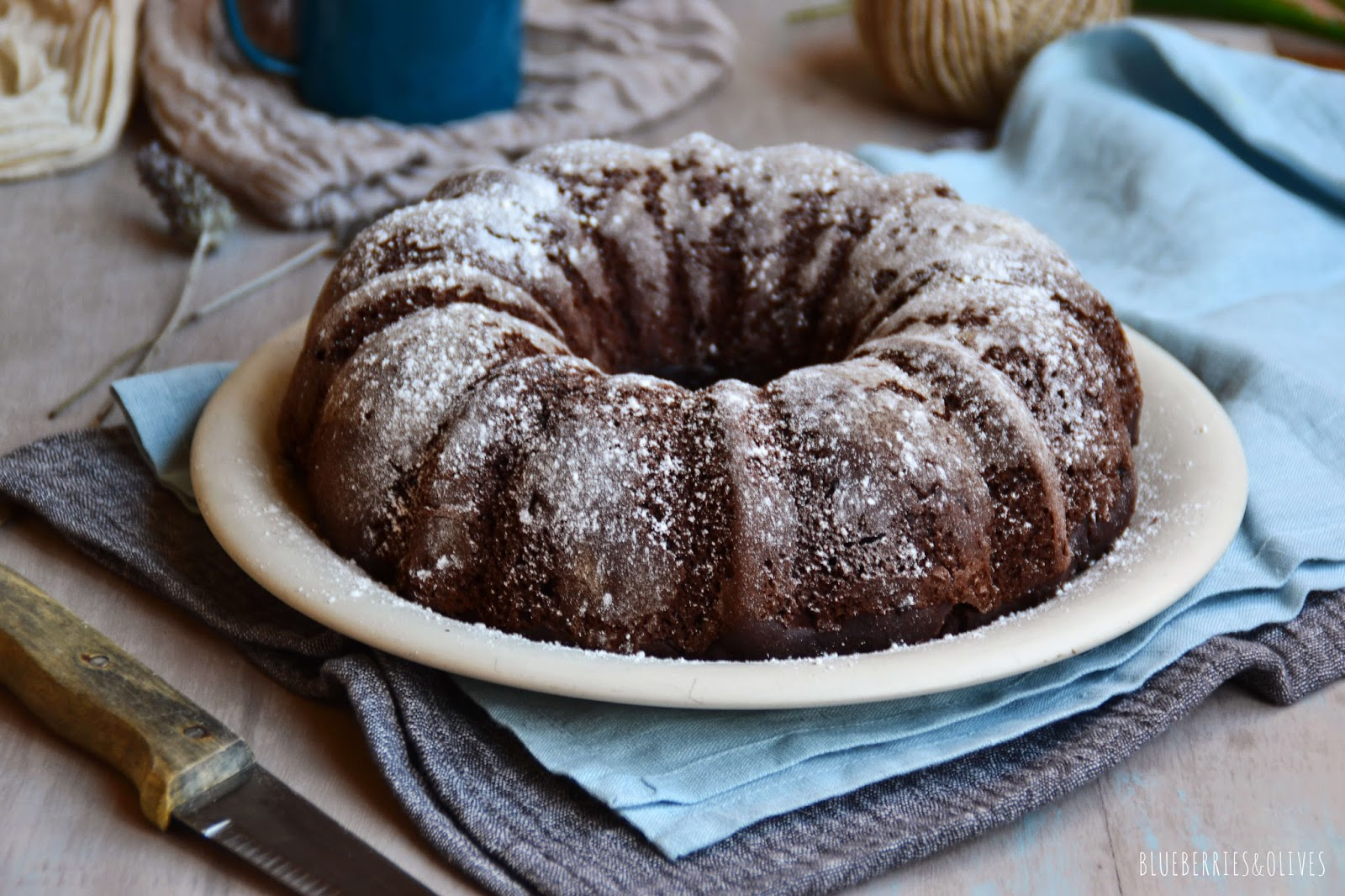 BUNDT CAKE DE CHOCOLATE INTENSO