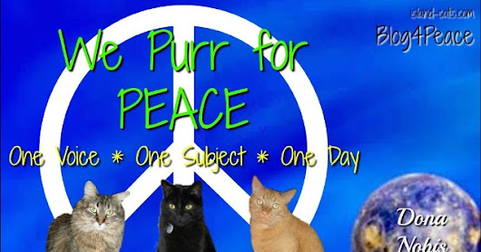 Peace Globe #10,397 ~ The Island Cats