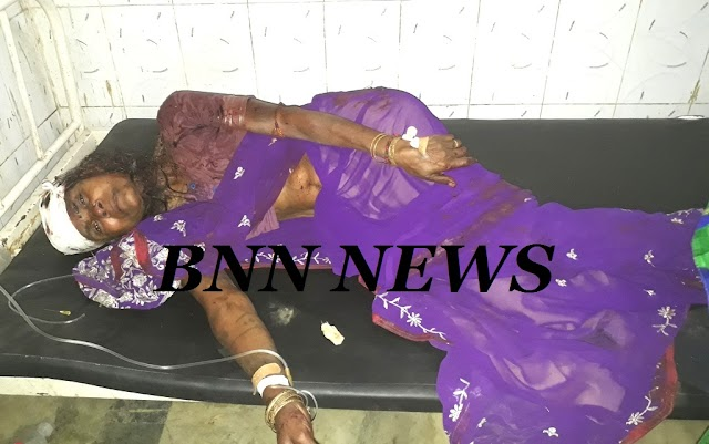 छत से गिर गंभीर रुप से जख्मी हुई महिला