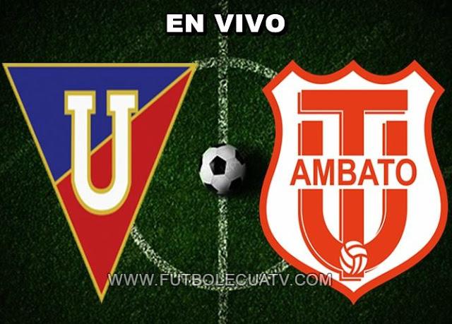 Liga de Quito se mide ante Técnico Universitario en vivo ⚽ a partir de las 19:15 horario designado por la comitiva a jugarse en el Estadio Rodrigo Paz Delgado iniciando la fecha ocho de la Liga Pro Ecuador, siendo el árbitro principal Oscar Proaño con emisión del medio autorizado GolTV.
