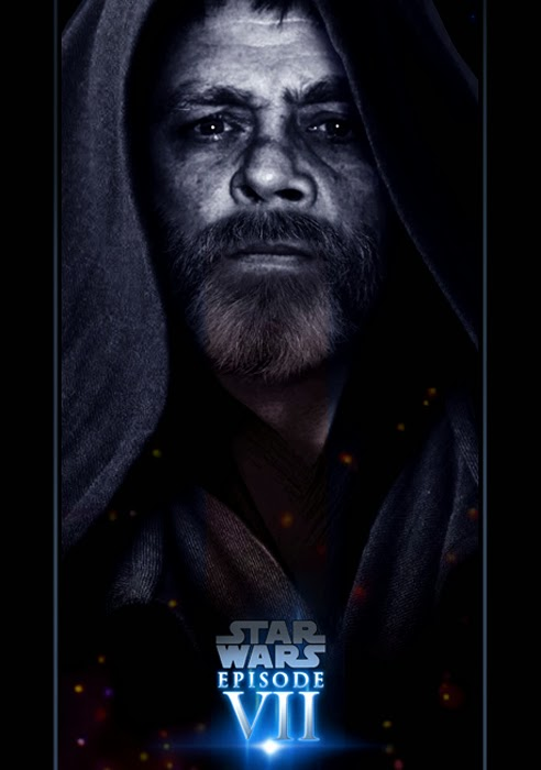 Star Wars Episode VII Poster - Luke Skywalker - Fan Made