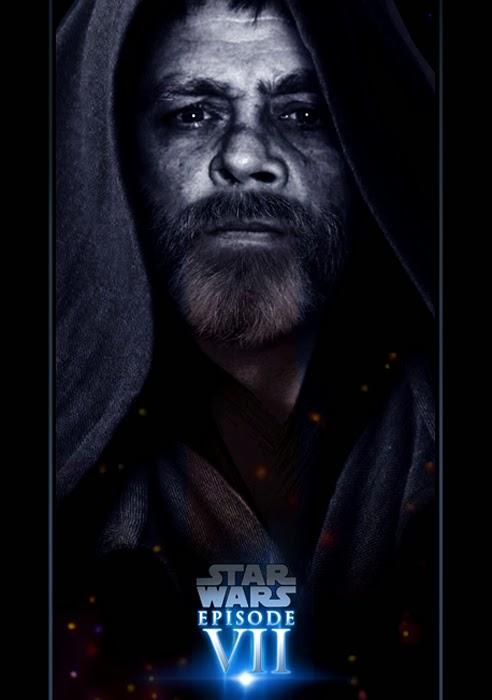 Star Wars Episode VII Poster - Luke Skywalker - Fan Made