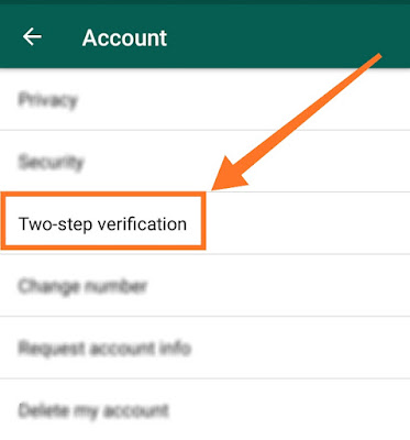 secure WhatsApp from hackers step 4