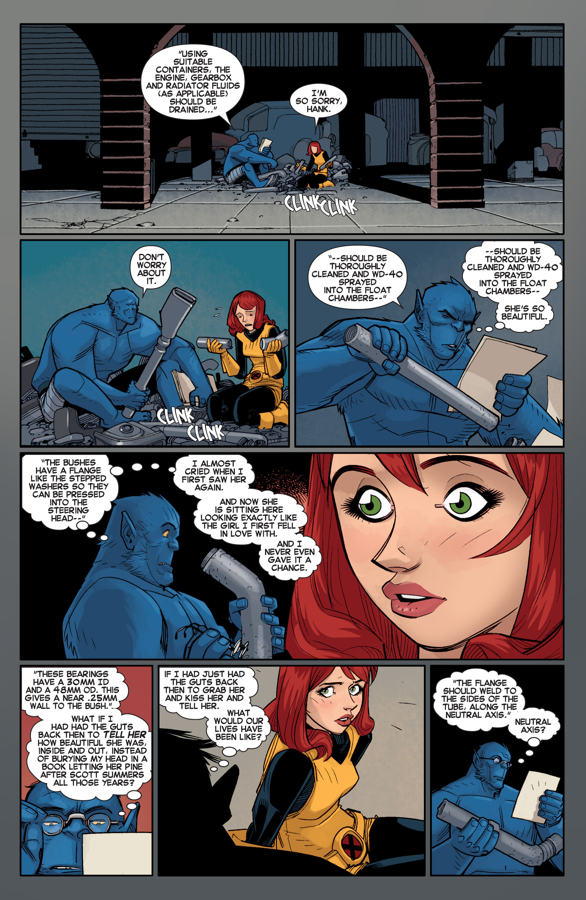 Read online All-New X-Men (2013) comic -  Issue # _Special - Out Of Their Depth - 99