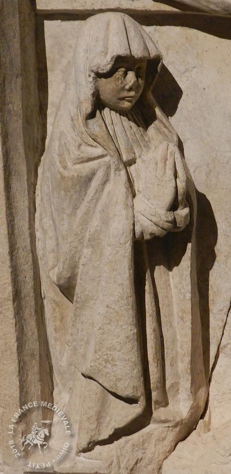 METZ (57) - Musée de la Cour d'Or : Retable (XVe siècle)