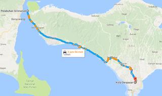 Tempat Wisata Sepanjang Jalur Gilimanuk-Denpasar