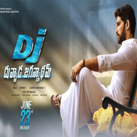 dj duvvada jagannadham (2017) Telugu Movie Audio CD Front Covers, Posters, Pictures, Pics, Images, Photos, Wallpapers