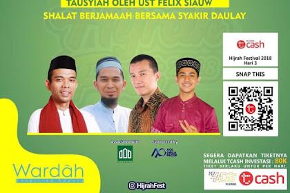 Yuuk Hadiri Hijrah Festival 2018 Bersama UAS di Jakarta Convention Centre
