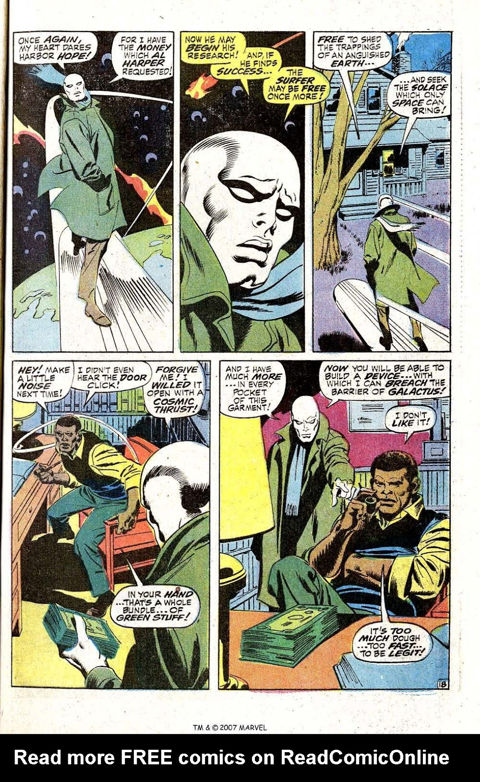 Silver Surfer (1968) issue 5 - Page 23