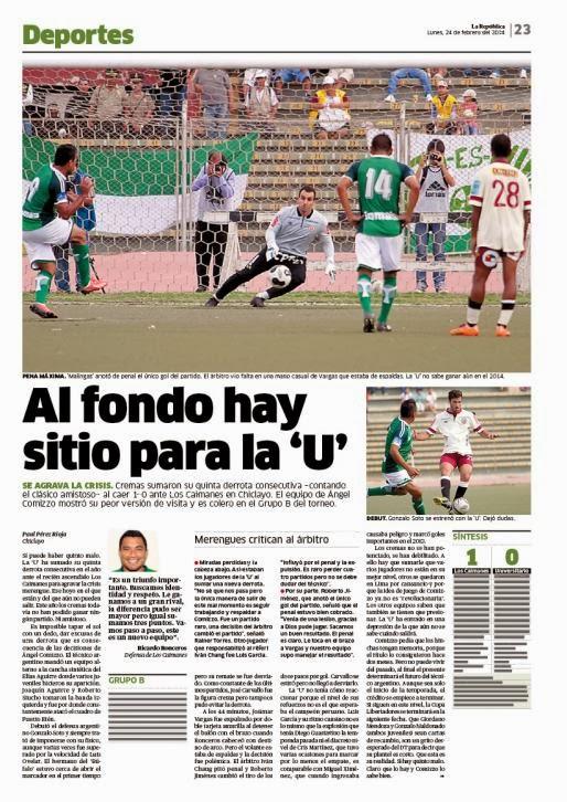check out 1159c 5f042  Malingas  anotó de penal el único gol del partido. El árbitro vio falta en  una mano casual de Vargas que estaba de espaldas.